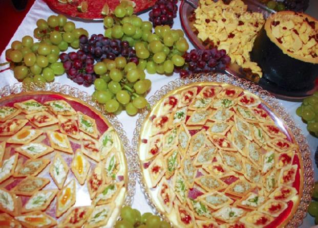 Fotos de buffet coliseu - Variedad de canapes frios ...