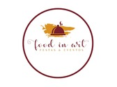 Logo Food in Art Festas e Eventos