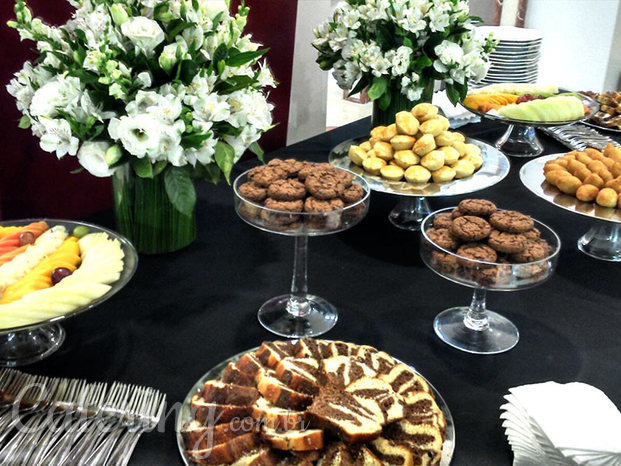 Buffet coquetel e coffee-break